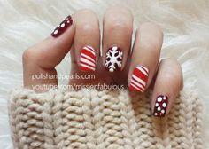 missjenfabulous    Chrstimas nail art