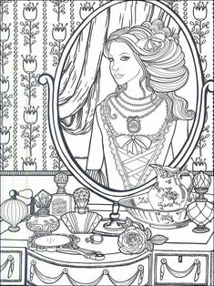 Colouring Book By Veronica See More Fashion Coloring Page