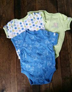 Onesies. 3-pc lot.  Size 0-3 months. $2. 3 Months, Onesies, Garage, Kids, Baby, Clothes, Fashion, Carport Garage, Young Children