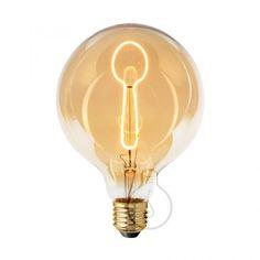 Zlaté LED tvoria LED žiarovky so zlatistým efektom skla. Spoon, Light Bulb, Led, Retro, Home Decor, Decoration Home, Room Decor, Spoons, Lightbulbs