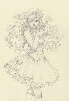 Original Pencil Drawing from JDarnell
