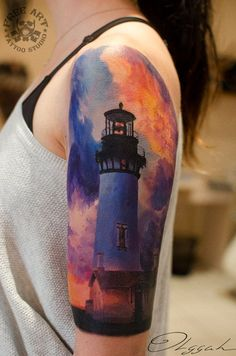 Beautiful Lighthouse Sleeve