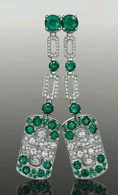Diamonds! Emeralds!