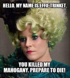 My name is Indigo Montoya. You killed my father. Prepare to die!
