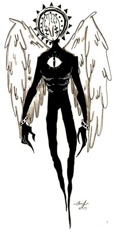 "Erika from ""Welcome to Night Vale. Creepy Drawings, Dark Art Drawings, Creepy Art, Dark Art Illustrations, Arte Emo, Arte Punk, Monster Concept Art, Arte Sketchbook, Night Vale"