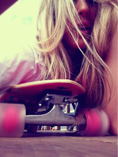 this is what my hair looks like in my mind. oh and i am usually sexily laying on a skateboard in my mind too.