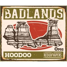 Badlands Hoodoo by Redux Vapers Red fruits vs Blue fruits Who do you think wins?  #ejuice #vapejuice  #canadianvapers #MacVapes