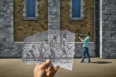 Ben Heine and his Pencil vs Camera Collection via YouTheDesigner.com