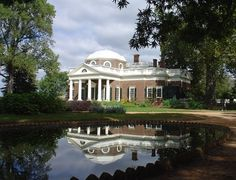 Monticello in Charlottesville, Virginia - Thomas Jefferson, late 1700s