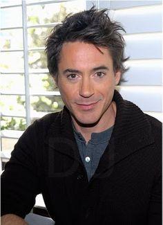 Robert Downey Jr.  Fantastic hair!