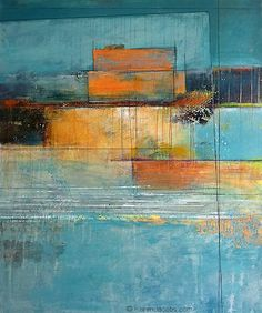 Karen Jacobs, 'Construction' Acrylic and mixed media on canvas