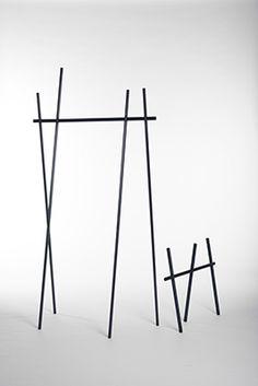 Clothes Rack by Martha Schwindling