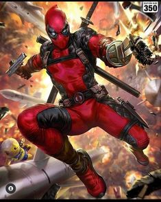 Marvel Comics, Deadpool, Superhero, Fictional Characters, Art, Art Background, Kunst, Performing Arts, Fantasy Characters