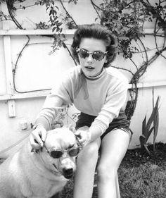 Natalie Wood, 1950s.