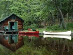 place of calm. I would like to go there now & canoe the day away. :)