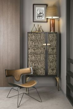Hamilton Conte Interior Design - Discover a selection of Art Furniture Pieces by modern artists, with some of the most exquisite shapes and forms. Luxury Furniture, Cool Furniture, Modern Furniture, Furniture Design, High Design, Deco Design, Contemporary Cabinets, Modern Cabinets, Modern Interior Design