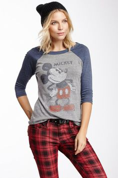 Mickey Mouse Tee by Junk Food on @HauteLook