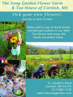 The Song Garden - Free Will Donation Pick Your Own Flower Farm. Our gardens and grounds run on your generous donations. We've had 5 beautif...