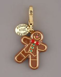 gingerbread man jewelry | Couture 2012 Limited Edition Fifi Lapin Pendant Charm SOLD OUT NWT
