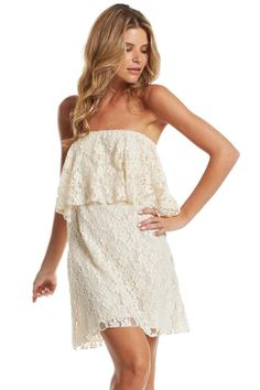 #strapless #summertime #lace #southern #fashion