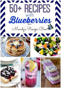 Mandy's Recipe Box: 50+ Recipes with Blueberries