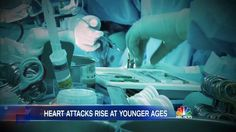 A new study says the average age for the deadliest type of heart attack has dropped from 64 to 60 — because well-known AND ENTIRELY PREVENTABLE risk factors are on the rise.