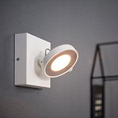 Buy Philips Clockwork LED Single Warmglow Spotlight, White Online at johnlewis.com