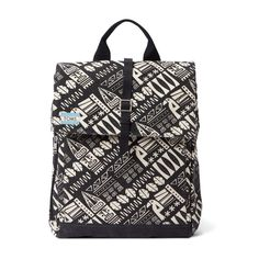 TOMS - 10008245 TREKKER - BLACK TIKI BACKPACK
