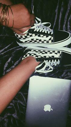 #VansShoes Checker vans, vans, vans, checkerboard