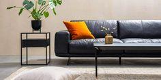 Bestum 3,5 Seter Skinnsofa - Hugna Couch, Furniture, Design, Home Decor, Settee, Decoration Home, Sofa, Room Decor
