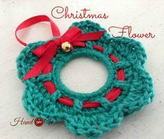 HandworkDIY: Adornos de navidad para tejer a crochet