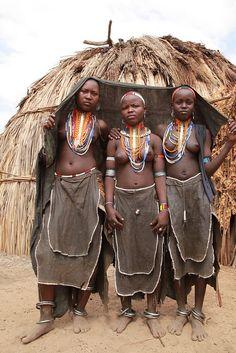 Arbore Tribe Omo Valley Southern Ethiopia...