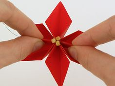 The latest PlanetJune crochet designs and tutorials, craft projects, running a craft business, PlanetJune news, and wildlife and nature. Christmas Origami, Christmas Wreaths, Christmas Crafts, Christmas Decorations, Origami Flowers, Paper Flowers, Origami Artist, Origami Patterns, Craft Projects
