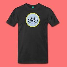 AlphaDotsBike by USART - Men's Premium T-Shirt
