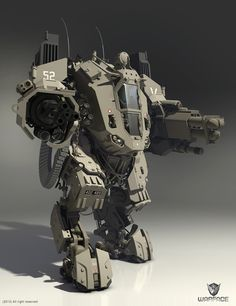 mesh boss hi-poly Universal Military Defence Mech (UMDM) in The Cyaligiate Universe