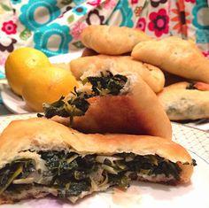 PiX FiZ: Lebanese Spinach Pies (Fatayir)