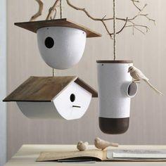Bodega Bird House - modern - birdhouses - Digs  #modern #birds