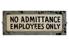 139 Employees Only Sign on OneKingsLane.com