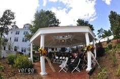 Outdoor Wedding Venue - The Rose Garden at The Stanley Hotel. Ideal for small ceremony ppl). Meeting Venue, Hotel Meeting, Estes Park Hotels, The Stanley Hotel, Outdoor Wedding Venues, Hotel Offers, Corporate Events, Garden, Outdoor Decor