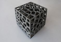 SCIN Cube by Matsys, 3D Printed concrete by Emerging Objects