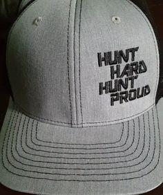Hunt hard hunt proud snapback
