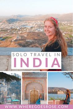These 28 best places in India for solo female travel will help you plan a safe and fun trip to India! #india #rajasthan #kerala #goa   India travel   India travel tips   Solo travel in India   Female travel in India   India safety tips India Travel Guide, Asia Travel, Solo Travel, Travel Tips, Travel Guides, India Facts, Responsible Travel, Amazing Destinations, Travel Destinations
