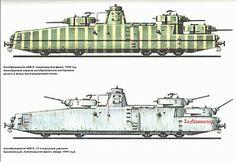 Russian armoured train