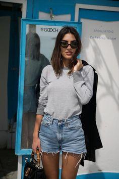 Vintage 90s Levis Black High Waist Jean Shorts Size 26 High Waist Levi Shorts…