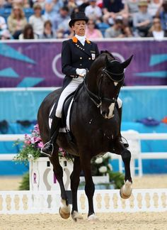 Anky van Grunsven and Salinero of the Netherlands