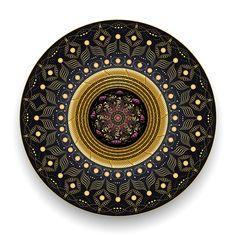 2501 by Alan Bennington Mandala Pattern, Mandala Design, Rugs On Carpet, Carpets, Geometry Art, Art Prints For Sale, Paisley, Decorative Plates, Digital Art