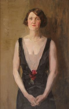 Portait of Beulah Watson, 1928 by Isaac Israels (Dutch 1865-1934)