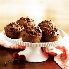 Cherry Chocolate Muffins from Smucker's®
