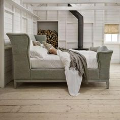 Churchill luxury leather bed