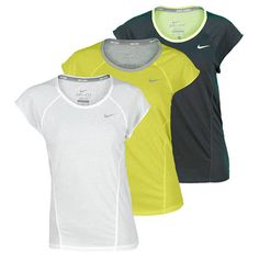 Women`s Dri Fit Cotton Knit Short Sleeve Tennis Top